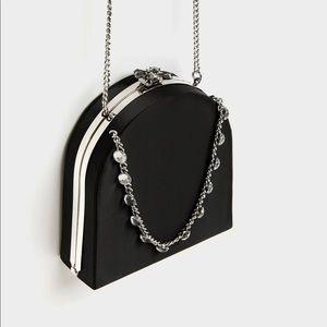 Zara NWT Minaudiere Bag